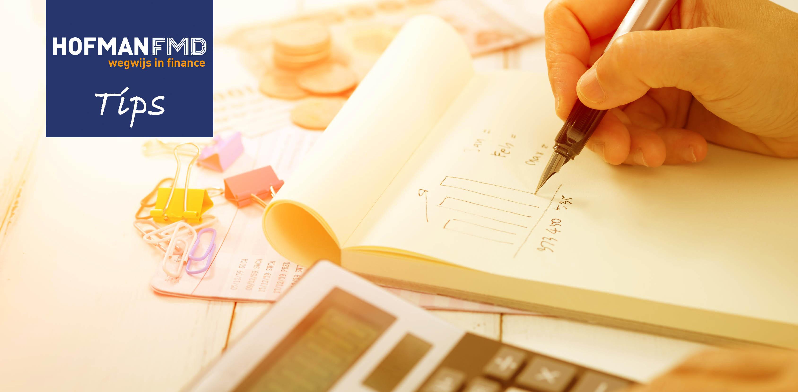 Met de Kleine Investerings Aftrek (KIA) kun je veel geld verdienen